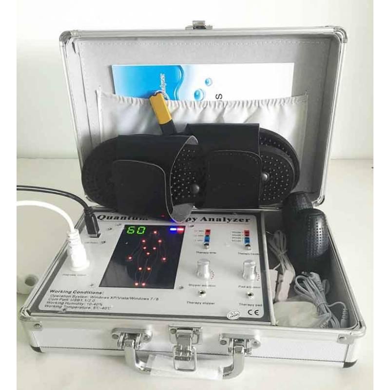 analizador cuántico o bio scanner